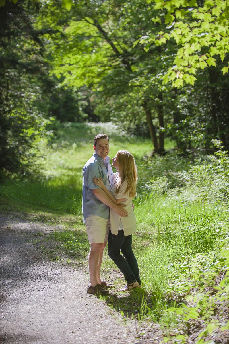 Evan & Liz Summer Cottage Engagement Session Toronto GTA Wedding Photographer