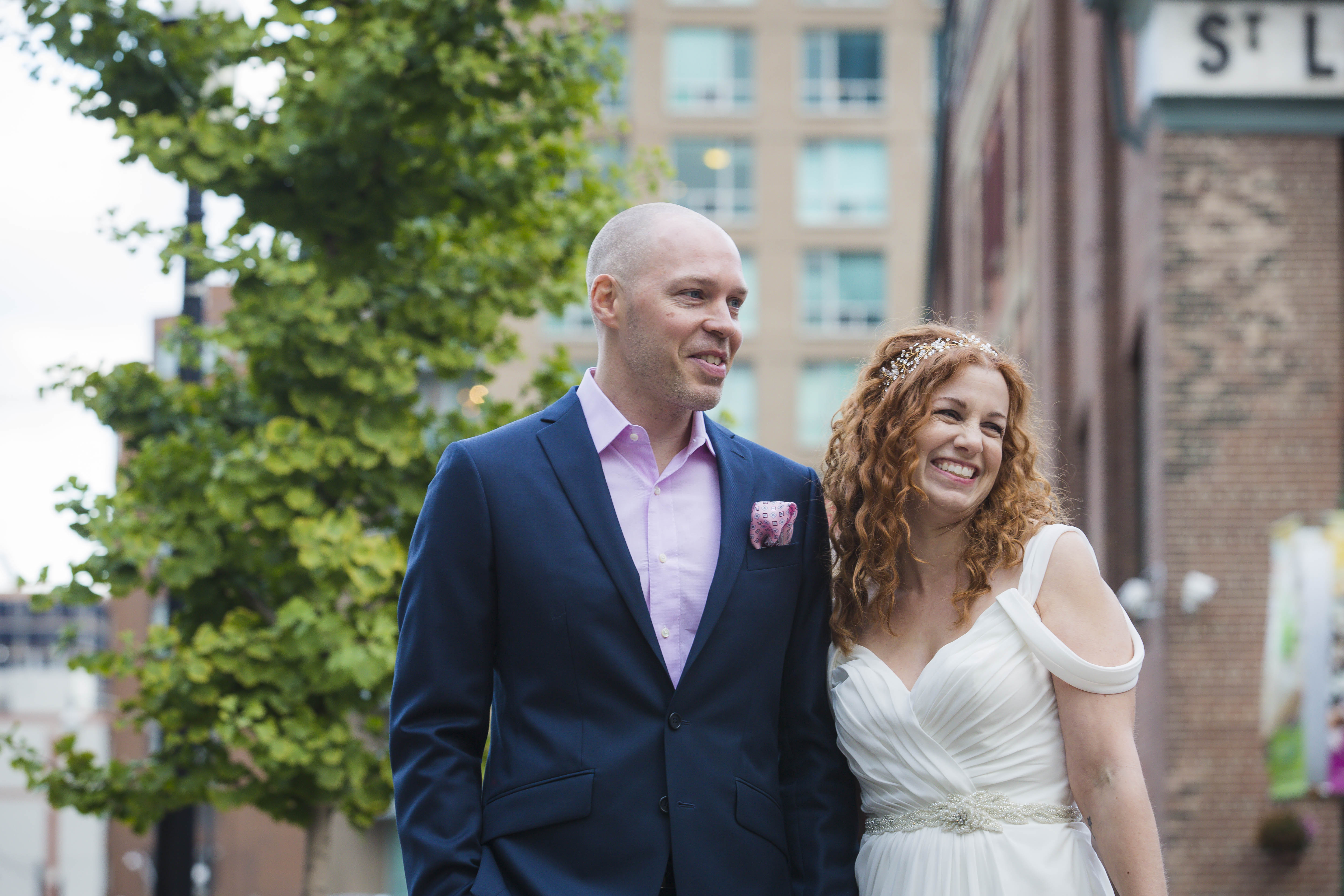 Candid – Offbeat Bride – St.Lawrence Market Wedding – Toronto Wedding Photographer