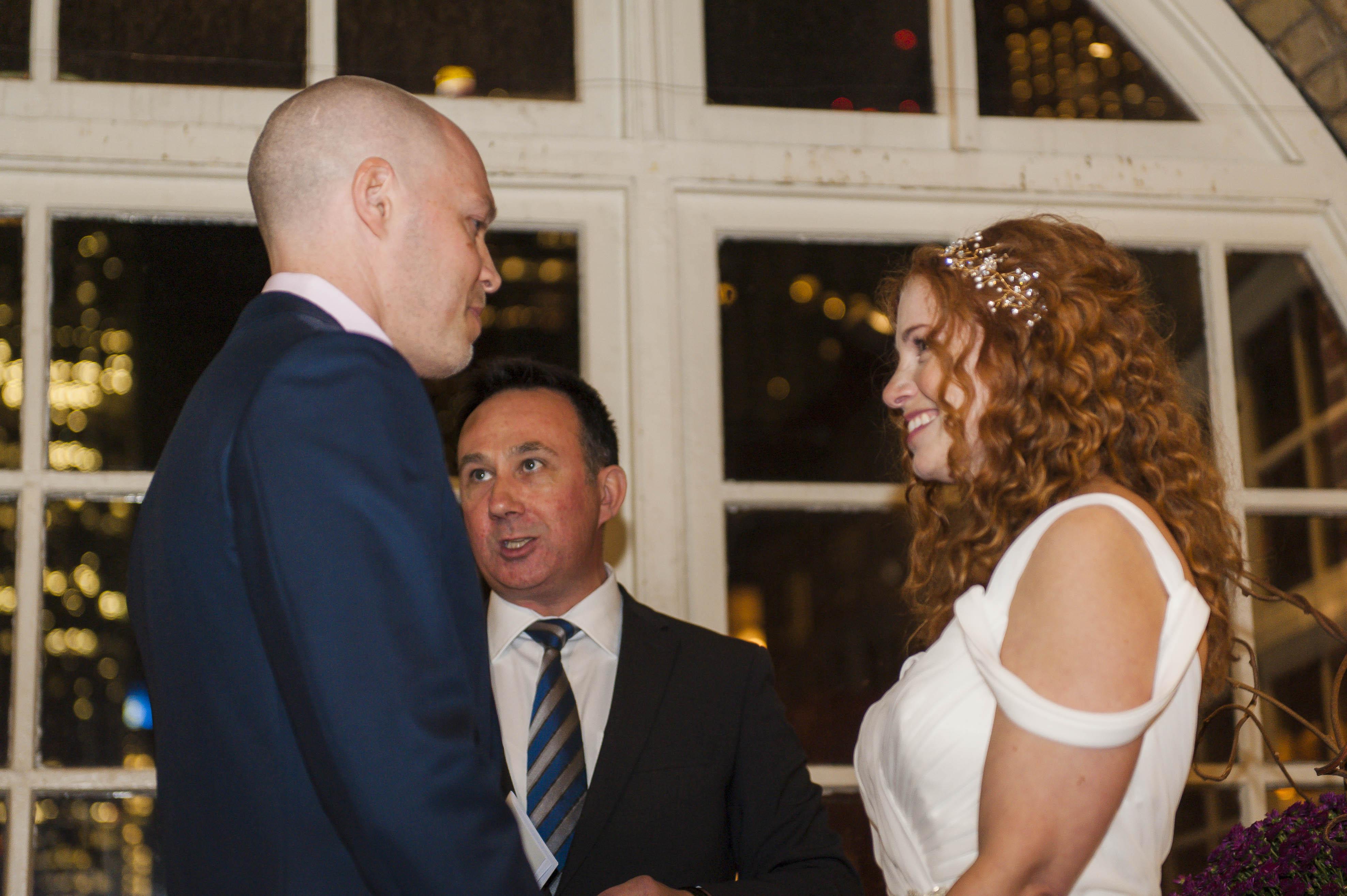 Ceremony – Jewish Wedding – Offbeat Bride – St.Lawrence Market Wedding – Toronto Wedding Photographer