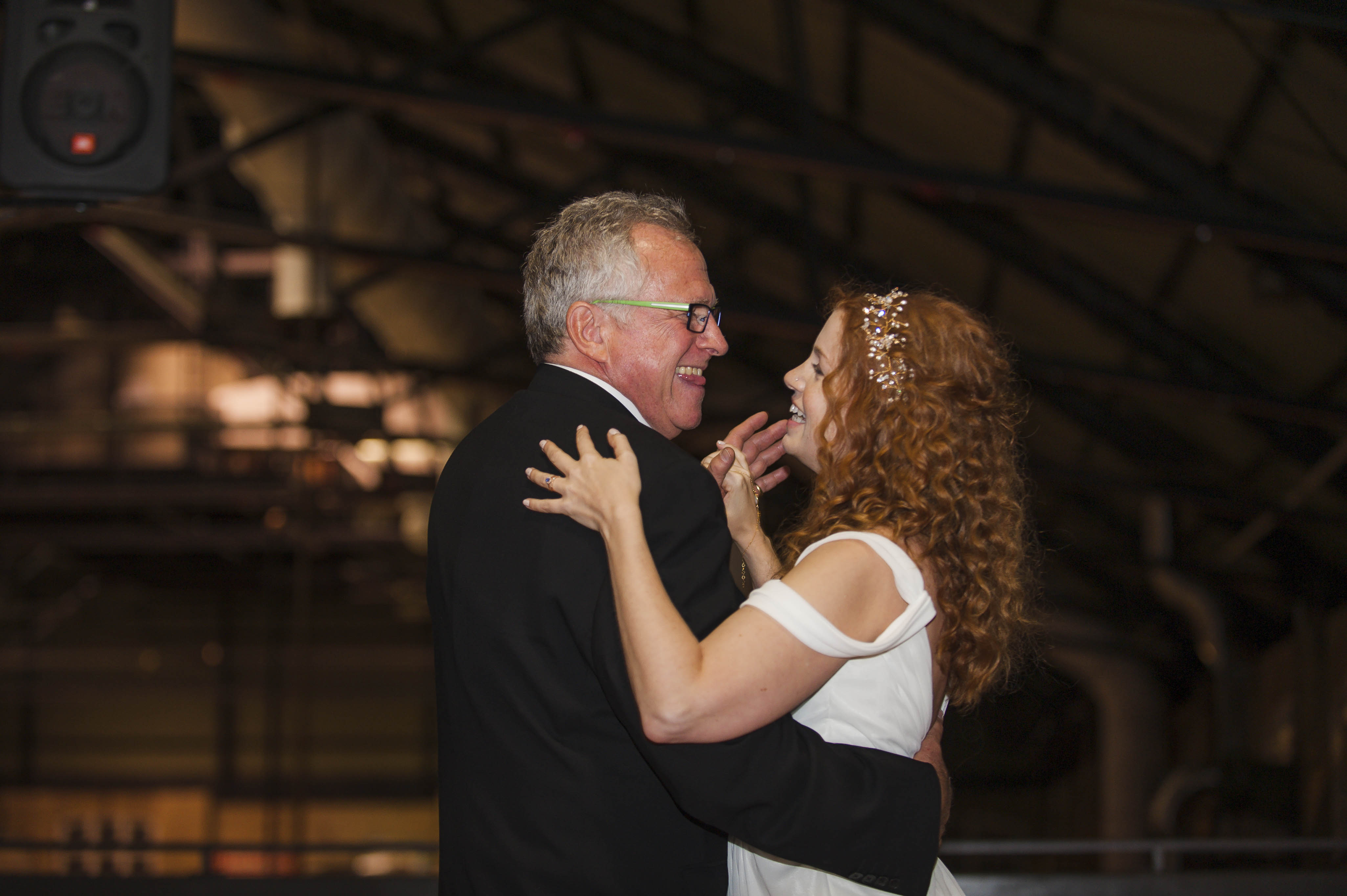 Father Daughter Dance Details – Comfortable Shoes – Running Shoes – Nike – Fall Wedding – Reception  – Horah – Jewish Wedding – Offbeat Bride – St.Lawrence Market Wedding – Toronto Wedding Photographer